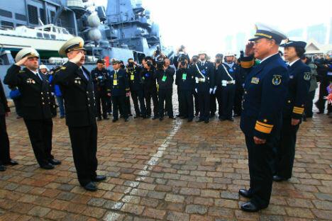 7月8日,俄中海上联合军事演习在符拉迪沃斯托克附近的彼得大帝湾正式拉开帷幕。