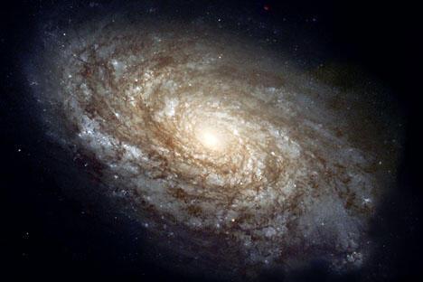 银河系。图片来源:Wikipedia/美国国家航空航天局
