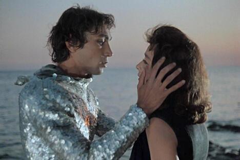 电影《两栖人》中的镜头。图片来源:kinopoisk.ru