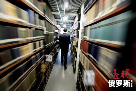 莫斯科图书馆将变身为信息中心和俱乐部。图片来源:塔斯社
