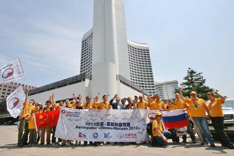历时32天的比赛行程将逾万公里经三国32城市为俄罗斯中国旅游年重要项目之一。图片来源:facebook.com/BeijingMoscow