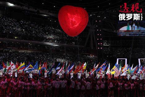 """喀山大运会上,俄罗斯代表团取得了最佳团体成绩,有可能创下了""""后无来者""""的纪录。图片来源:俄罗斯报"""