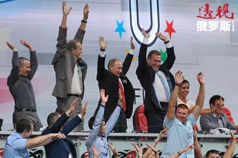 摄影:俄罗斯报 / Konstantin Zavrazhin, Sergey Savostyanov