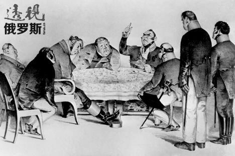政府巡视员(钦差大人)是尼古拉·果戈里的一部描绘人性贪婪,愚昧 和沙俄极度腐败政治的讽刺小说。图片来源:塔斯社