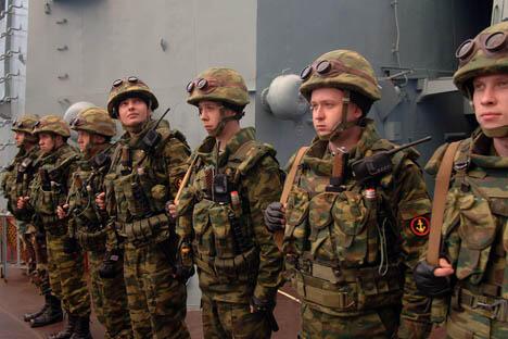 学生们可以利用这个机会获得第二学历——军事学历,并且还是免费的。来源:Flickr/MATEUS_27:24&25