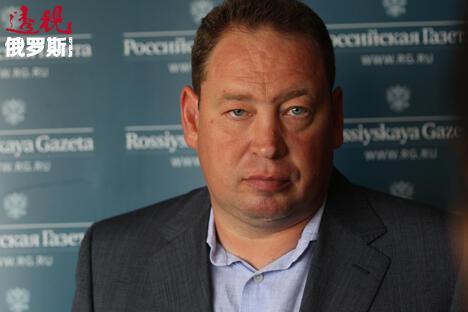 中央陆军队主帅莱昂尼德•斯卢茨基。图片来源:俄罗斯报/Sergey_Mikheyev