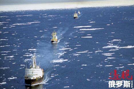 """俄罗斯""""投资CAFE""""公司分析师伊万·阿纳什金认为,北极地区冰层融化将有助于节约运输成本。图片来源:俄通社-塔斯社"""