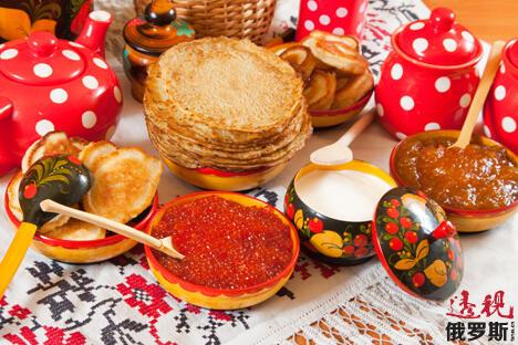 俄罗斯的传统美食。图片来源:Lori/LegionMedia