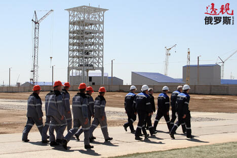 "Eurochem的人士表示:""通过经销商,我们的专用氮磷钾肥料在华年销量超过20万吨。新工厂将是我们扩大在这一地区业务""。图片来源:俄通社-塔斯社"