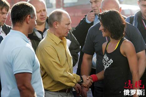 图片来源:俄罗斯报/Konstantin Zavrazhin