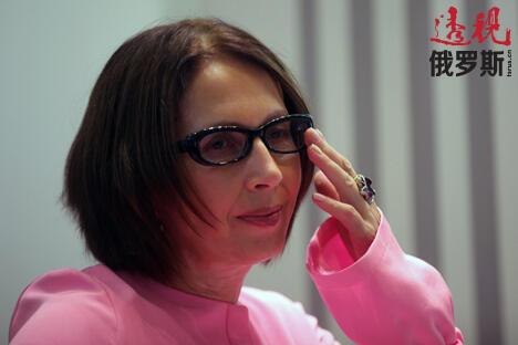 奥莉加·斯拉夫尼科娃。图片来源:俄新社