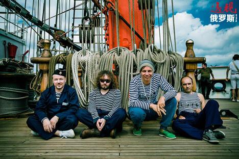 """乐队""""红色木乃伊。图片来源:Press Photo"""