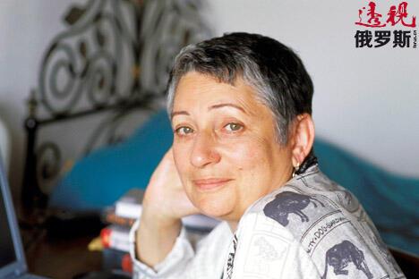 柳德米拉•乌利茨卡娅。图片来源:EastNews