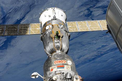 载人航天的经济效果接近于零,其预算比重肯定会被削减,并相应增加发射俄罗斯经济所必需的卫星。图片来源:俄罗斯联邦航天局