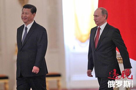 上半年俄中双边贸易额有所下降但两国关系正在全方位发展。图片来源:俄罗斯报
