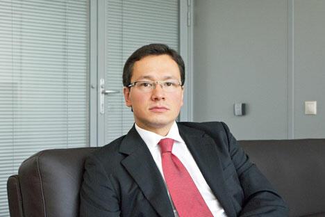 北高加索发展公司的首席执行安东·帕克。图片来源:Press Photo