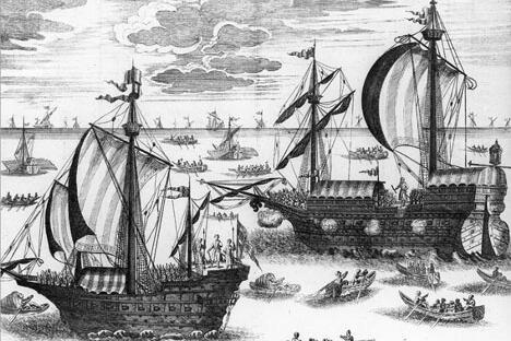 亚速舰队。图片来源: Wikipedia