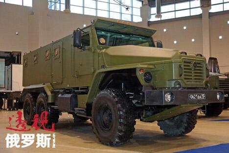 乌拉尔-4320军用越野车。图片来源:Press Photo
