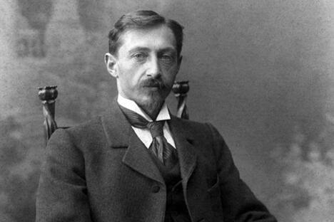 首位荣获诺贝尔文学奖的俄罗斯作家伊万·布宁。图片来源:Wikipedia