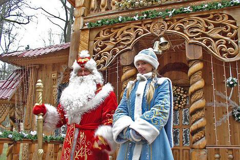 严寒老人与他的孙女雪姑娘。图片来源:Wikipedia。摄影:Yogi555