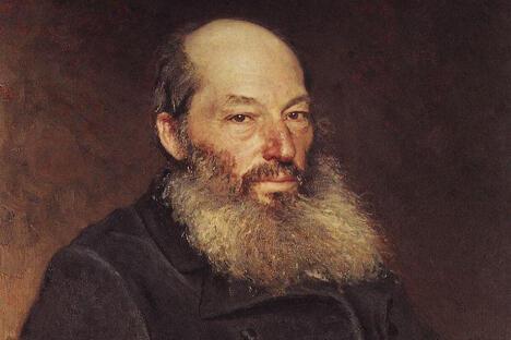诗人费特肖像,伊利亚·列宾作。图片来源:Wikipedia