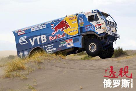 俄罗斯卡玛斯车队在2013达喀尔拉力赛上的胜利意义非凡。图片来源:俄罗斯报