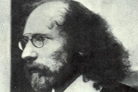 白银时代诗人维亚切斯拉夫·伊万诺夫。图片来源:Wikipedia