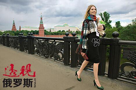 俄罗斯女性总是穿得像要去剧院或豪华餐厅似的。 图片来源: Fotoimedia