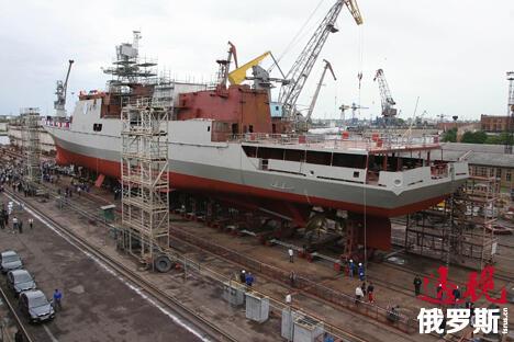 11356型新型护卫舰 图片来源:俄新社