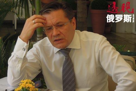 俄罗斯经济发展部副部长阿列克谢·利哈乔夫(Alexey Lihachev) 图片来源:PressPhoto