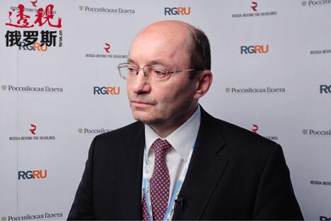"""俄铁公司子公司""""高速干线""""公司总经理亚历山大·米沙林。图片来源:《透视俄罗斯》"""