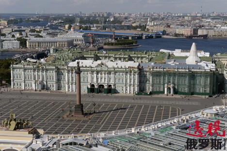 圣彼得堡冬宫国立博物馆。图片来源:俄新社