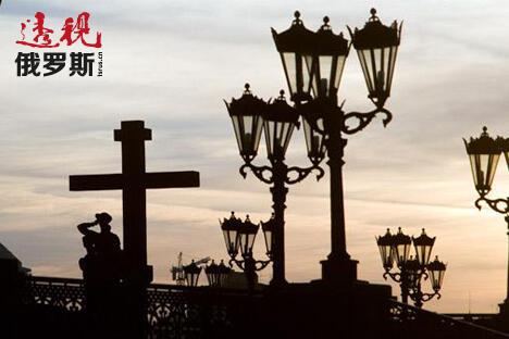 罗曼诺夫家庭纪念碑。图片来源:俄新社