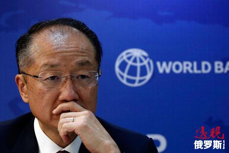 图内的人物为世界银行行长金墉。他生于韩国首尔,随后移民美国。他是首位亚裔世界银行行长。图片来源:路透社
