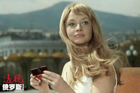 娜塔莉娅·库斯金斯卡娅在影片《伊万·瓦西里耶维奇改行》中。来源:kinopoisk.ru