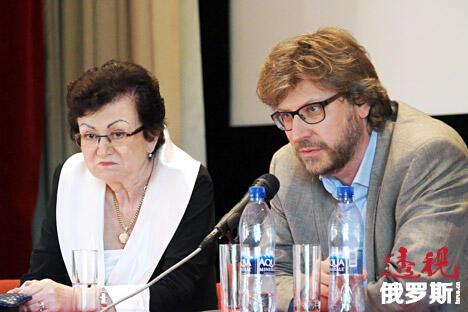 俄罗斯政治分析家、《全球事务中的俄罗斯》杂志编辑费奥多尔·卢基扬诺夫(右)。图片来源:Vladimir Stakheev