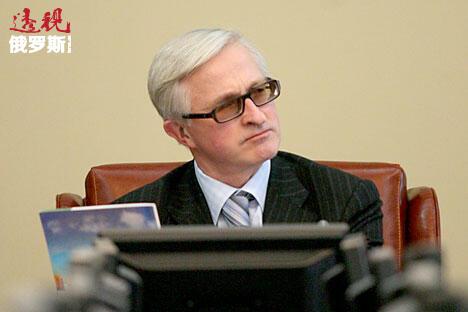 俄罗斯工业与企业家联合会主席亚历山大·绍欣。图片来源:俄罗斯报