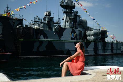 图片来源:俄新社/Konstanin Chalabov