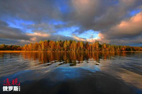 奥涅加湖。图片来源:俄塔社
