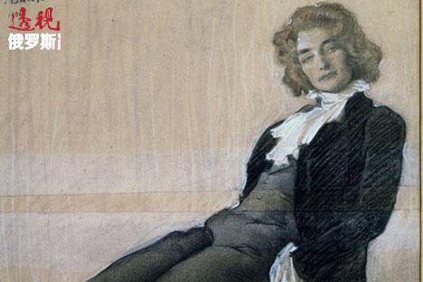 女诗人吉皮乌斯肖像,列昂·巴克斯特(Leon Bakst)创作于1906年。图片来源:AFP/East News