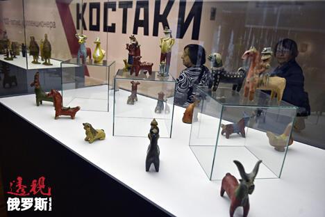 特列季亚科夫画廊举行格奥尔吉·克斯塔基藏品展。图片来源:《生意人报》/Gleb Schelkunov