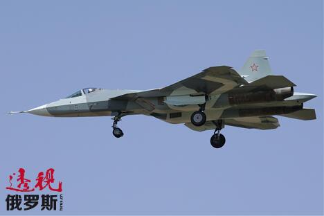 PAK FA战斗机。图片来源:PressPhoto