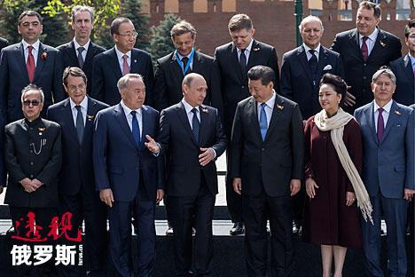 图片来源:Mikhail Japaridze/俄塔社