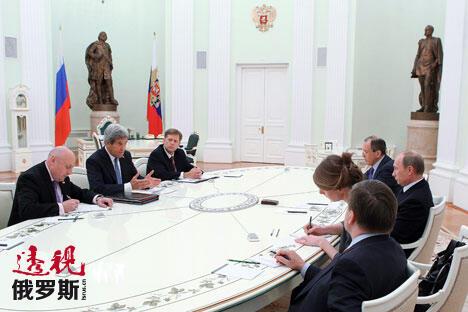 图片来源:Mikhail Klimentiev/俄新社
