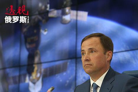 俄罗斯航天局局长伊戈尔·科马罗夫。图片来源:Artem Korotaev/俄塔社