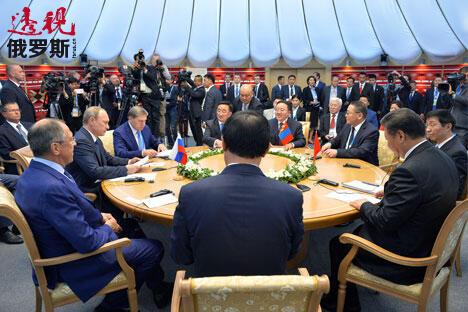 图片来源:Alexei Druzhinin/俄塔社