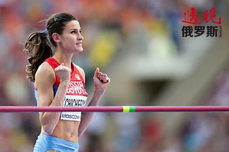 安娜·奇切罗娃。图片来源:Photoshot/Vostock-Photo