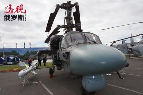 """Ka-52""直升机。图片来源:Sergey Ptichkin/俄罗斯报"