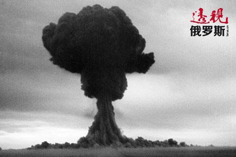 1949年8月29日,苏联第一颗原子弹试爆。图片来源:Getty Images