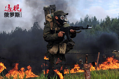 NBC protection troops perform annual military exercise CN